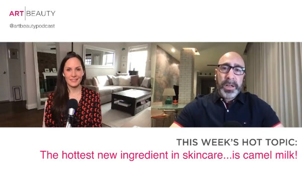 Cammellatte Camel Milk Natural Body Care Founder Marc Green on Art Beauty Podcast with Amber Milt