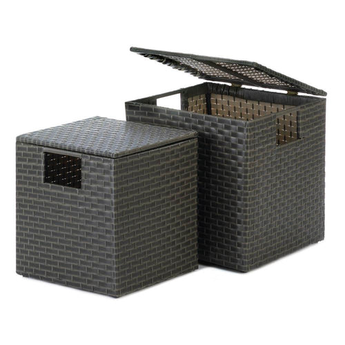 Monterey Wicker Storage Trunks