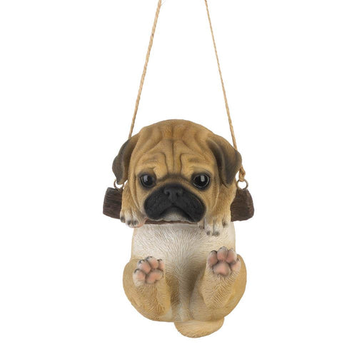 Swinging Pug Decor