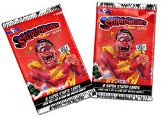 Joe Simko Cereal Killers Trading Stickers & Stupid Heroes Trading Cards