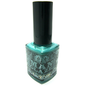 ILF turquoise matte nail polish bottle