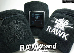 RAWKband sweatband watchband for iPod nano in two color options
