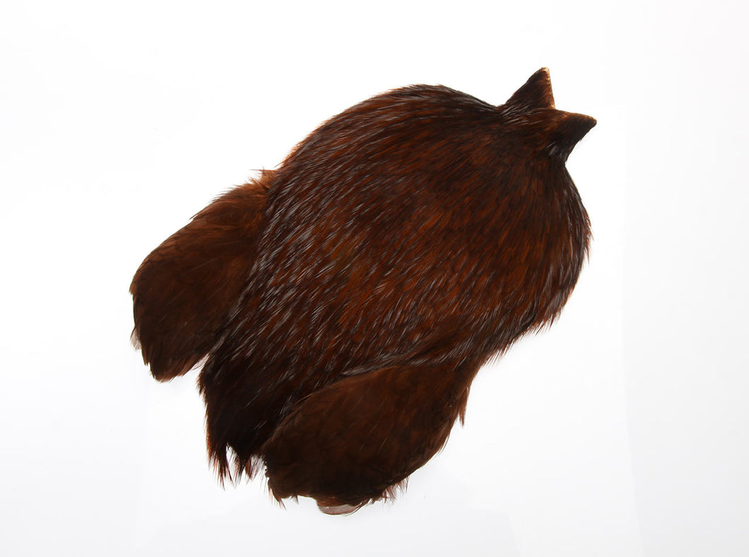 FF rooster capes Natural brown