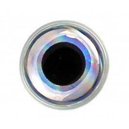 3D Epoxy Eyes 9mm Silver