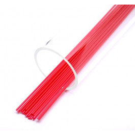 FF 3 mm  soft tube Milky Red