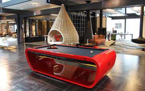 Image of Blacklight Pool Table - Design Collection - Billards Toulet