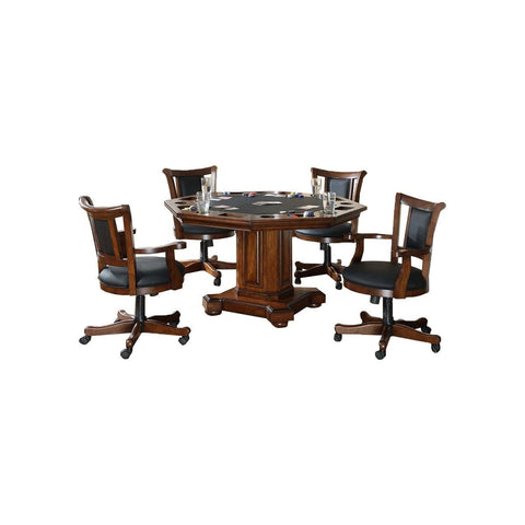 Image of IMPERIAL 2-IN-1 GAME TABLE AND WITH 4 CHAIRS SET