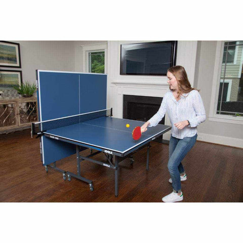 Image of JOOLA Tour 1500 Indoor Table Tennis Table with Net Set (15mm Thick)