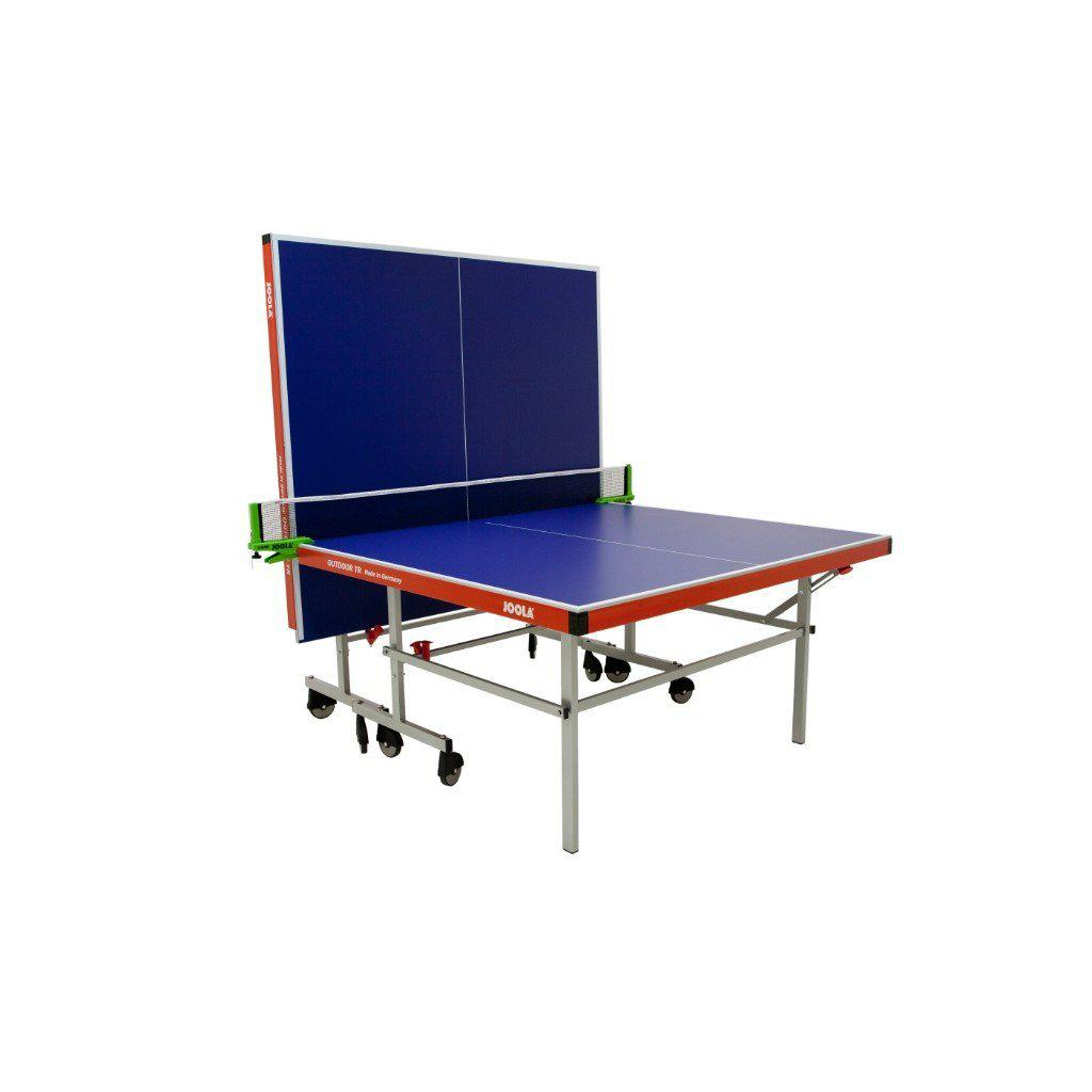 JOOLA Outdoor TR Table Tennis Table with Weatherproof Net Set