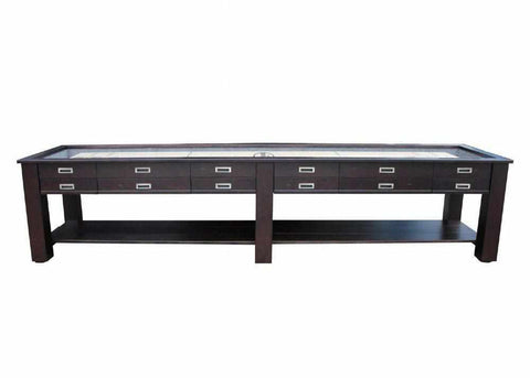Image of Berner Billiards The Aspen 12 foot - 2 in 1 Shuffleboard & Console Table