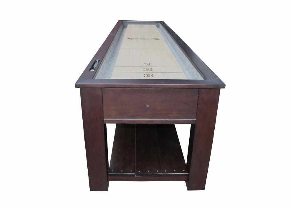 Berner Billiards The Aspen 12 foot - 2 in 1 Shuffleboard & Console Table
