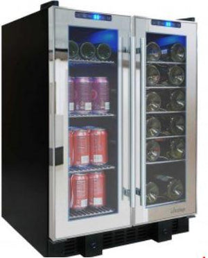 VT-36 Touch Screen Mirrored Wine & Beverage Cooler