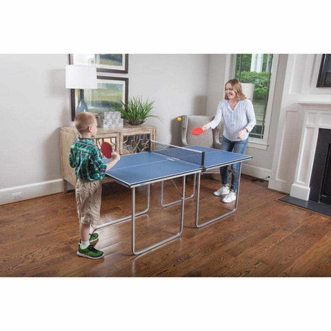 JOOLA Midsize Table Tennis Table with Net Set