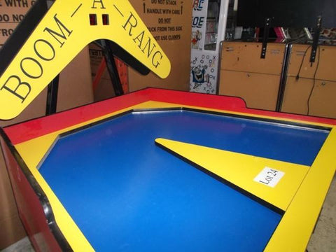 Image of GREAT AMERICAN BOOM-A-RANG AIR HOCKEY TABLE W/ ELECTRONIC SCORING