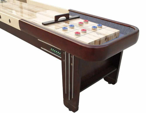 Image of Berner Billiards The Retro 18 foot Shuffleboard Table