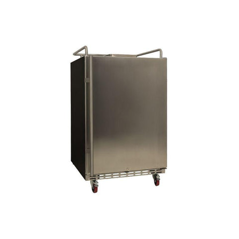 24 Inch Wide Kegerator Conversion Refrigerator for Full Size Kegs