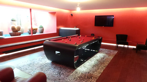 Blacklight Pool Table - Design Collection - Billards Toulet