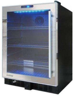 VT-54 Mirrored Touch Screen Beverage Cooler