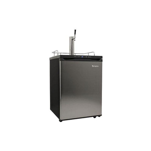 24 Inch Wide Kegerator with Digital Display for Full Size Kegs