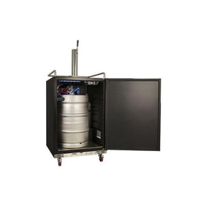24 Inch Wide Kegerator for Full Size Kegs with Electronic Control Panel