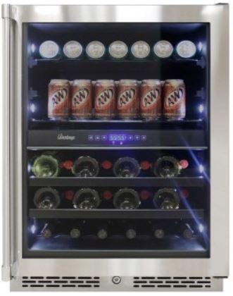 Image of Vinotemp 24-Inch Outdoor Dual-Zone Wine & Beverage Cooler