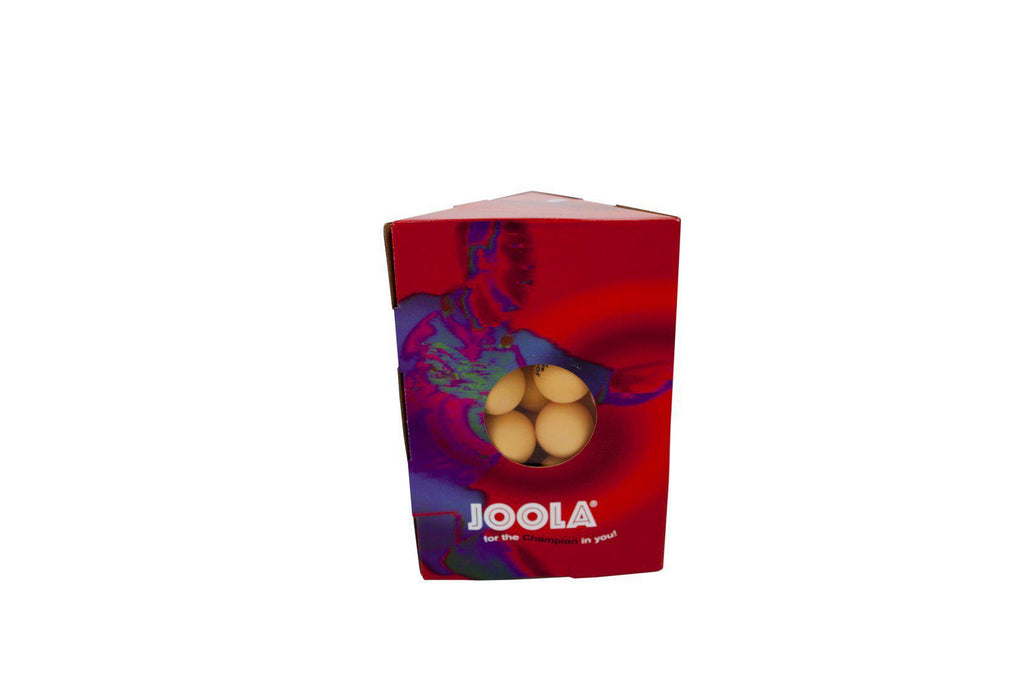 JOOLA Magic 2-Star Training Table Tennis Balls (48 Count) - Orange