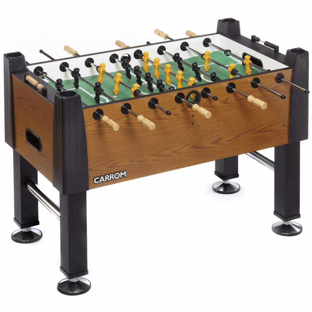 SIGNATURE FOOSBALL TABLE – BURR OAK – Preassembled
