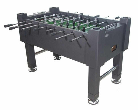 The Player Foosball Table in Black with both 1 & 3 man Goalie
