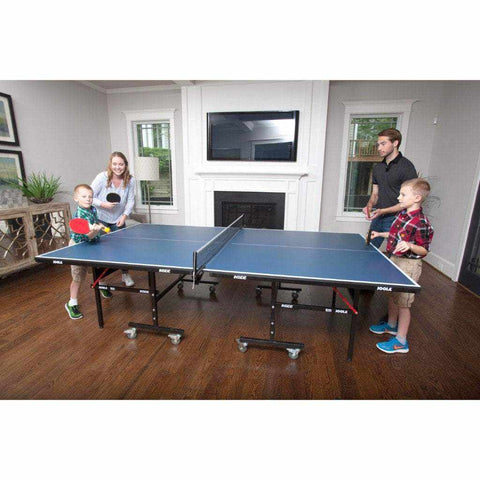 JOOLA All-in-One Table Tennis Hit Set (Includes 4 Rackets, 8 Balls, Carrying Case)