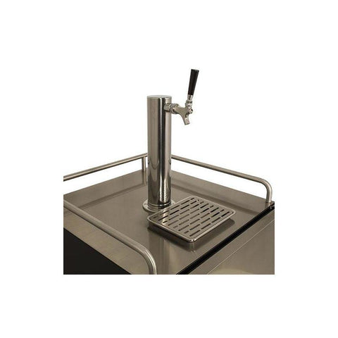 Image of 24 Inch Wide Kegerator for Full Size Kegs with Electronic Control Panel