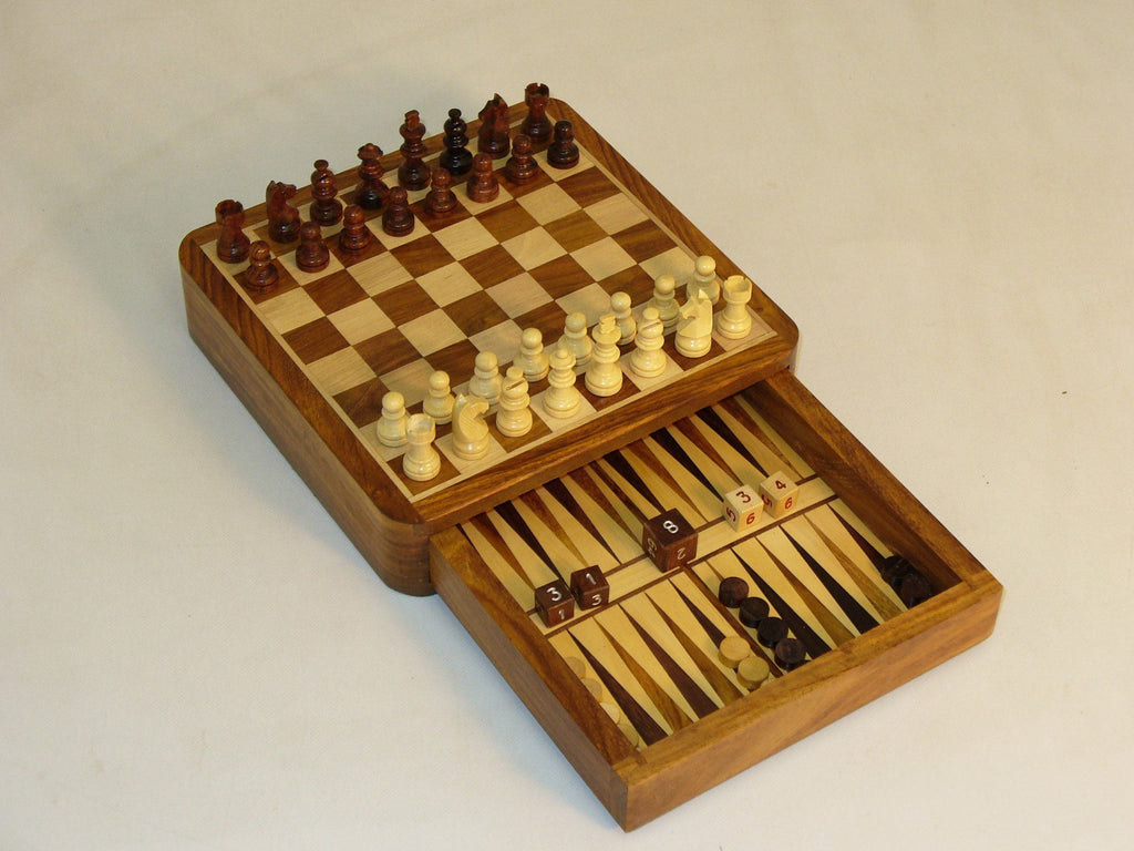 "7"" Chess & Backgammon Drawer"