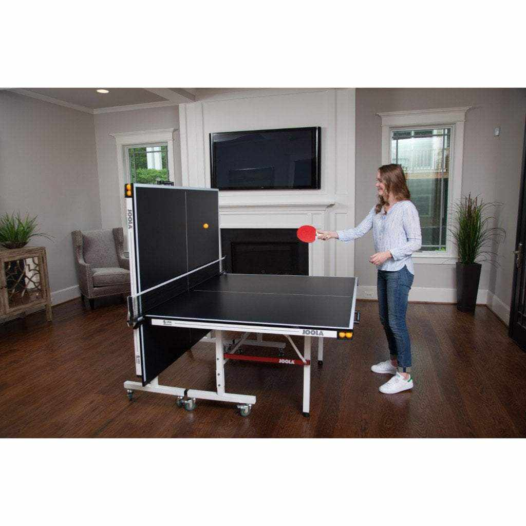 JOOLA Drive 1800 Table Tennis Table with Net Set (18mm Thick)
