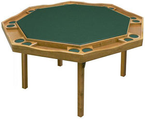 Period Style Folding Poker Table