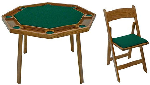 Image of Compact Folding Poker Table