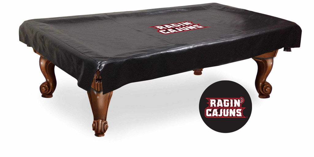 Louisiana-Lafayette Billiard Table Cover