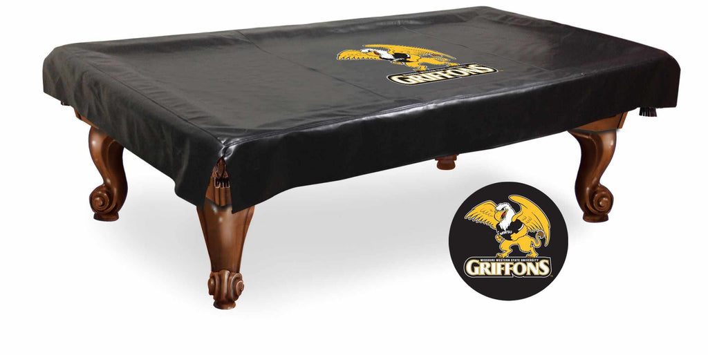 Missouri Western State Billiard Table Cover