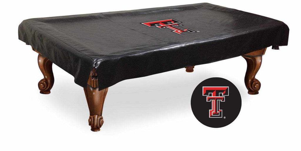 Texas Tech Billiard Table Cover