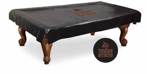 Texas State Billiard Table Cover