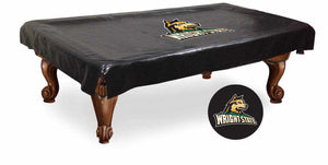 Wright State Billiard Table Cover