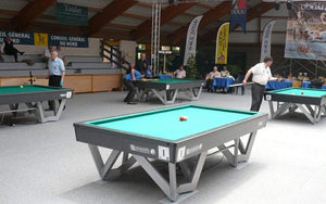 Inter 900 Pool Table - Competition Collection - Billards Toulet