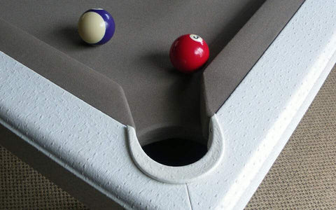 Leather Pool Table - Contemporary Collection - Billards Toulet