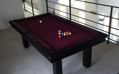 Roundy Pool Table - Contemporary Collection - Billards Toulet