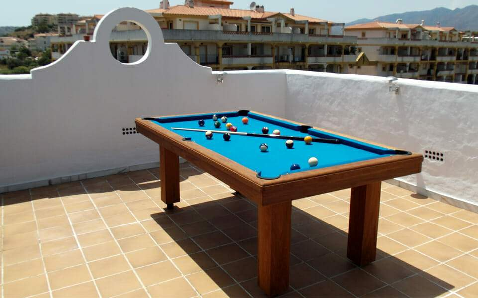 Teck Pool Table - Contemporary Collection - Billards Toulet