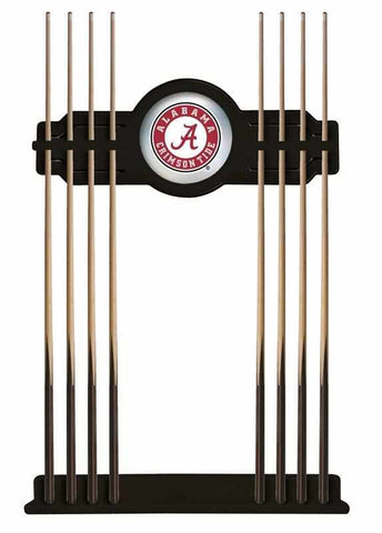 Image of Alabama Cue Rack in Black Finish