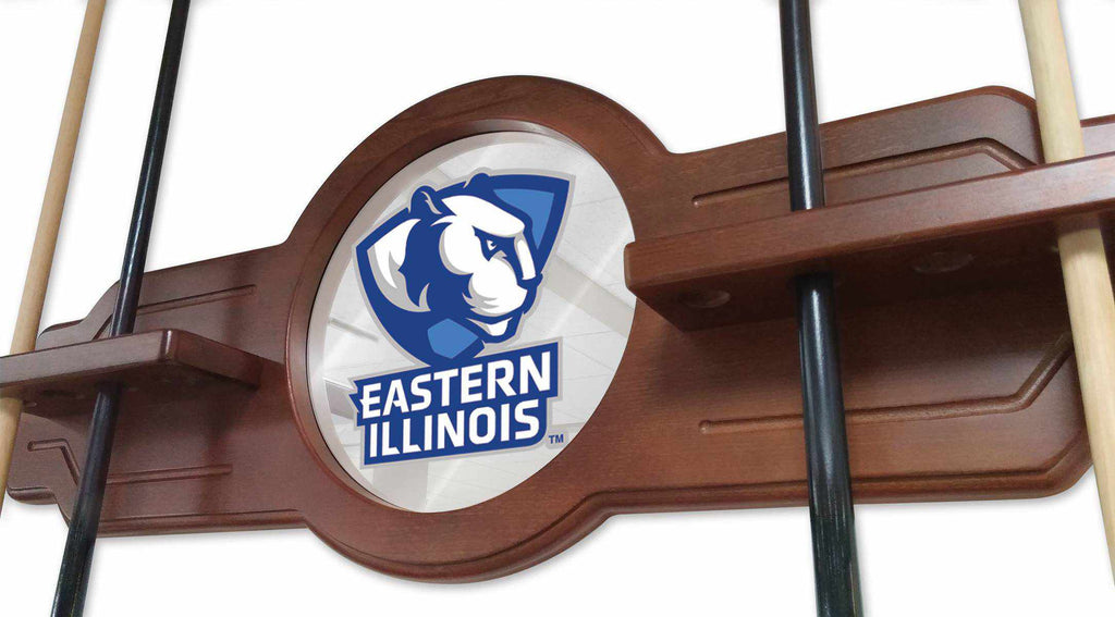 Eastern Illinois Cue Rack in Black Finish