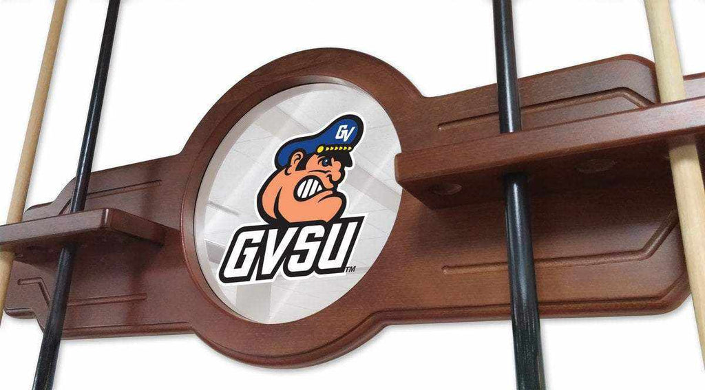 Grand Valley State Cue Rack in Black Finish