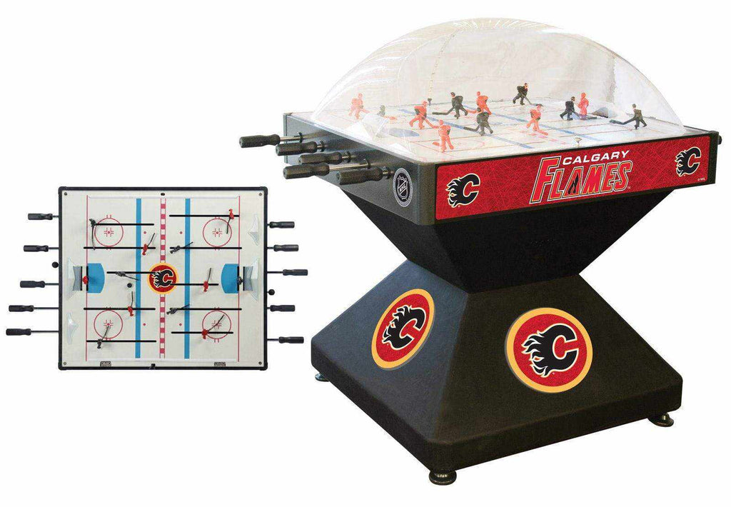 Calgary Flames Dome Hockey (Deluxe)