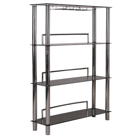 Image of Home Source Glass Bar Unit 12915