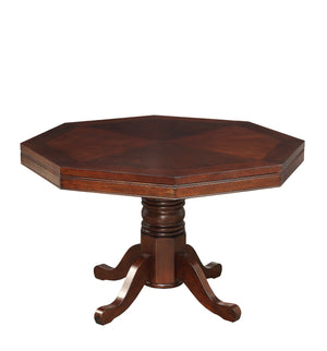Spector traditional cherry reversible poker game table