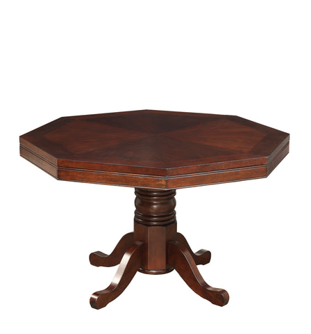 Image of Spector traditional cherry reversible poker game table